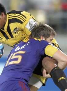 Julian Savea Hurricanes v Highlanders 2011