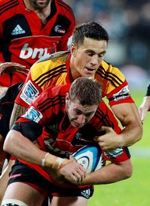 Luke Romano Sonny Bill Williams chiefs v crusaders