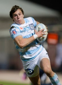 Metro Racing s winger Juan Imhoff sprints top 14