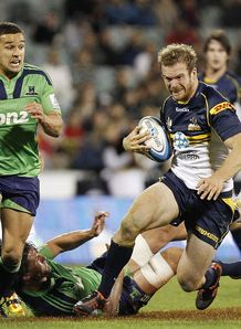 Pat McCabe Bumbies v Highlanders 2012
