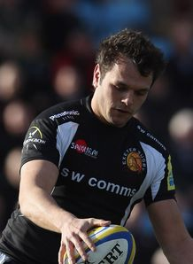 Phil Dollman of Exeter Chiefs Aviva Premiership 2012
