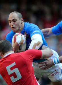 Sergio Parisse Italy v Wales Six Nations 2012