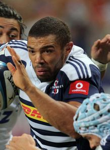 Stormers wing Bryan Habana v Blues 2012