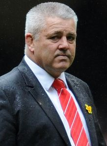 Warren Gatland Wales v France 2012