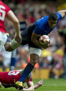 Wesley Fofana France v Wales 2012