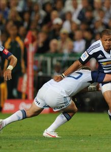 Juan de Jongh Stormers v Blues Super Rugby Newlands Mar 2012
