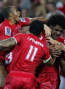 reds celebrate v force