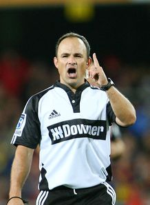 Jaco Peyper referee