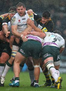 Sam Jones London Irish v Wasps Adams Park Aviva Premiership Mar 2012