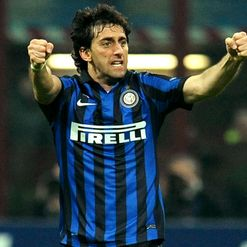 Milito: Happy in Italy