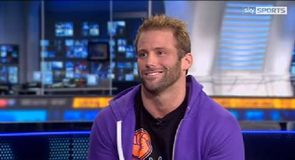 Zack Ryder in the studio