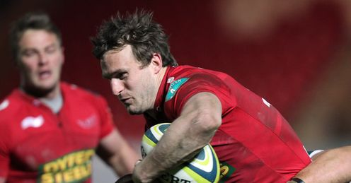 Andy Fenby Scarlets jan 2012