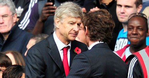 Wenger: will he get the better of Villas_Boas?