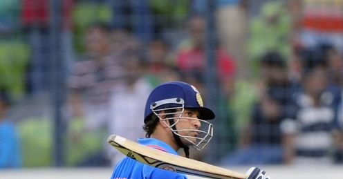Bangladesh v India Asia Cup Sachin Tendulkar out