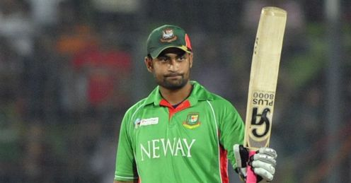 Bangladesh v India Asia Cup Tamim Iqbal