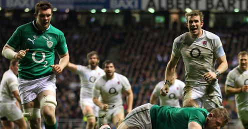 Ben Youngs England try 2012