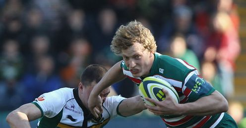 Billy Twelvetrees Vasily Artemyev leicester tigers