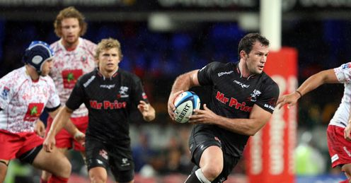 Bismarck Du Plessis of the Sharks v Reds 2012