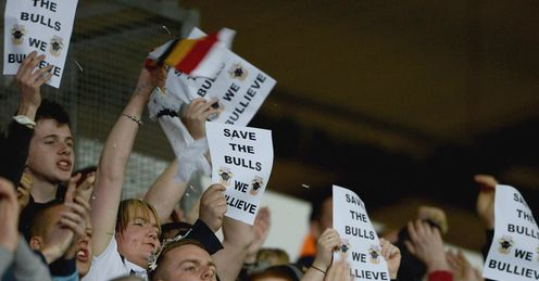 The fans: asked to dig deep to save the club they love - but they deserve some answers