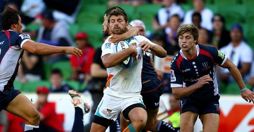 Cheetahs wing Willie le Roux brought down