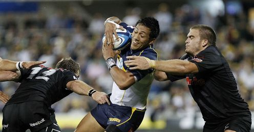 Christian Lealiifano Brumbies v Sharks