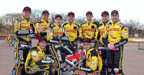 Coventry Bees: Tipped for a big 2012 (Pic credit Jeff Davies)