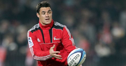 Dan Carter Crusaders warm up 2011