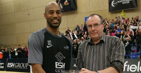 The Newcastle Eagles cllinched the BBL Trophy. Credit: Dave Lowerson
