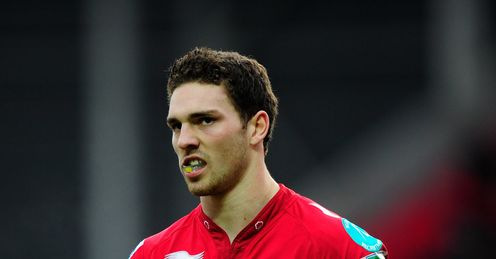 George North Scarlets 2012