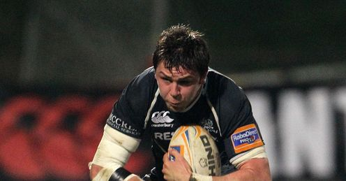Glasgow Warrior s Ryan Wilson charges pro12 2012