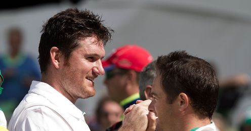 Graeme Smith Mark Boucher South Africa win second Test against New Zealand