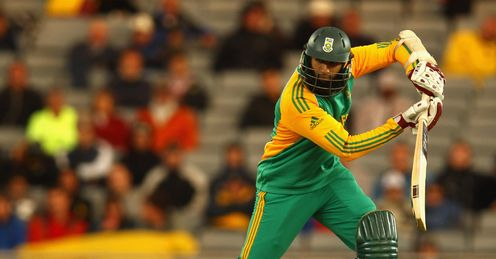 Hashim Amla New Zealand v South Africa 3rd ODI