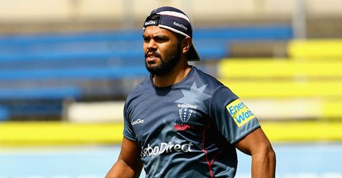 Kurtley Beale training ahead of Rebels debut