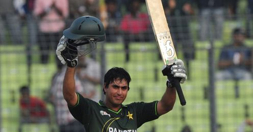Nazir Jamshed hundred v India Asia Cup