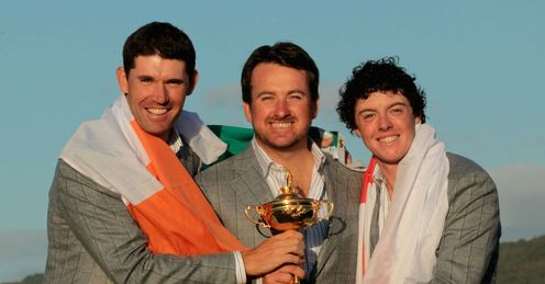 Harrington, McDowell & McIlroy: home heroes
