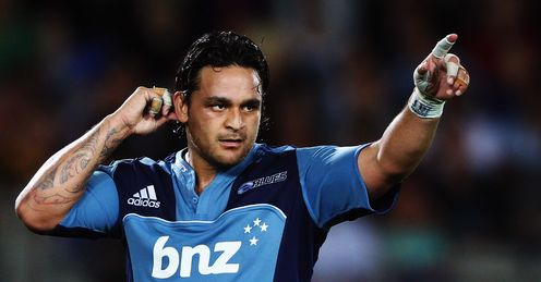Piri Weepu Blues v Hurricanes 2012