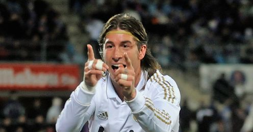 Defensive lynchpin: Ramos has excelled at the heart of Real Madrid's back four