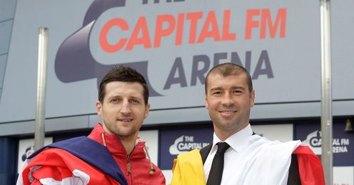 Froch will fight in his hometown for Bute's IBF title