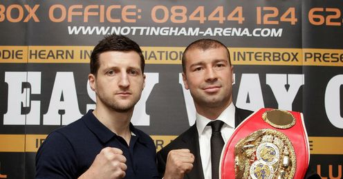 50-50: Froch and Bute are closely matched, says Johnny