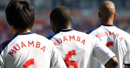 Bolton: showed their support for Muamba