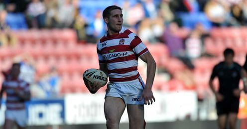 Tomkins: took his chance to shine