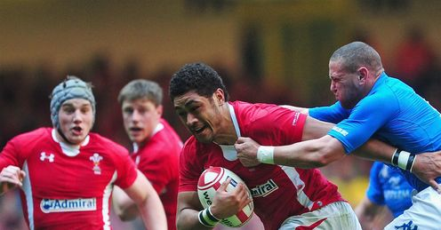wales Toby Faletau italy Fabio Semenzato