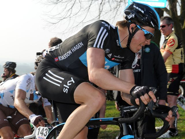Boasson Hagen: Fifth in Wevelgem