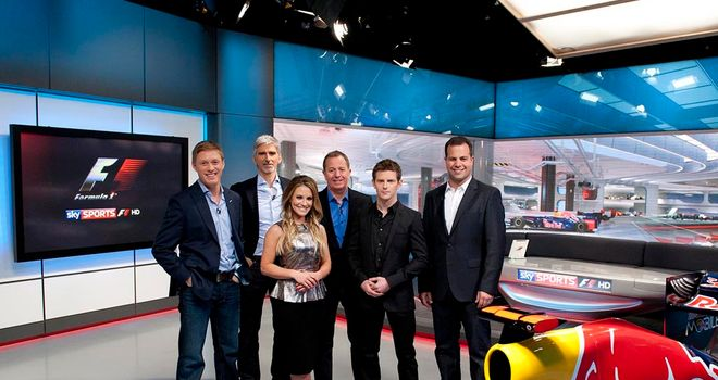 Formula 1 2012 Sky Sports F1 HD Preview Show