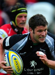 Ally Hogg Newcastle Falcons