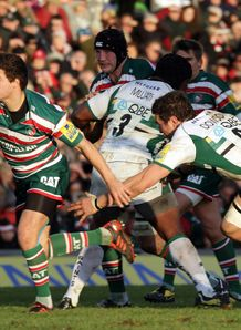 Ben Youngs Phil Dowson Northampton Leicester 2012