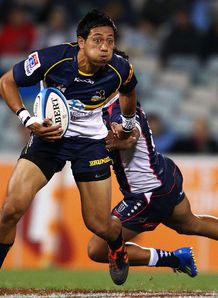 Christian Lealiifano Brumbies v Rebels 2012