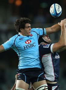 Dave Dennis Waratahs v Rebels 2012
