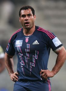 George Smith in Stade Francais jersey