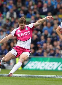 Leigh Halfpenny Cardiff Blues v Leinster 2012